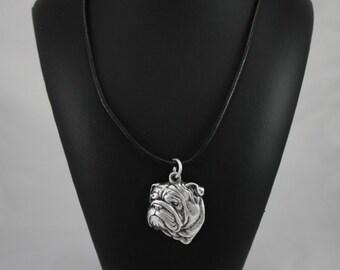 Bulldog, dog necklace, limited edition, ArtDog