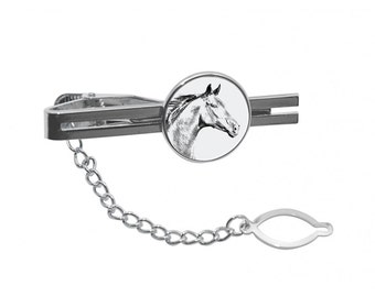 NEW! Zweibrücker  - Tie pin with an image of a horse.