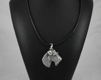 Fox Terrier, dog necklace, limited edition, ArtDog