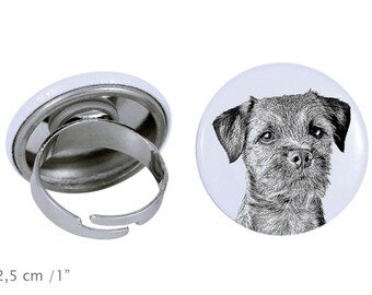 Ring with a dog - Border Terrier