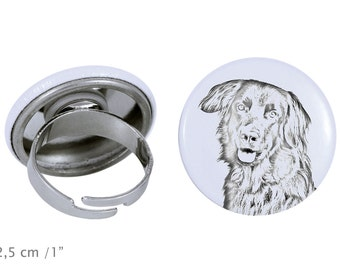 Ring with a dog- Hovawart