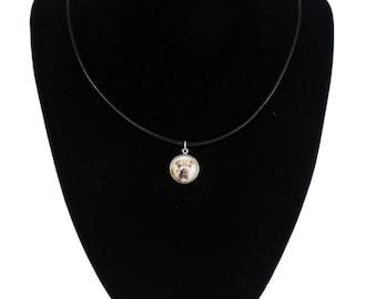 Shar Pei, pendant for people who love dogs. Photojewelry. Handmade.