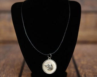 Dachshund, dog necklace, medallion, limited edition, extraordinary gift, ArtDog