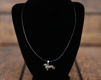 Dachshund , dog necklace, limited edition, extraordinary gift, ArtDog
