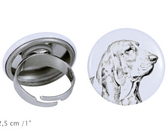 Ring with a dog - Basset Hound