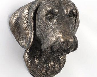 Dachshund (wirehaired), dog hanging statue, limited edition, ArtDog
