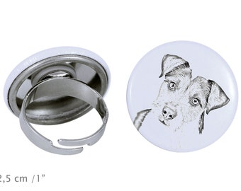 Ring with a dog- Parson Russell terrier