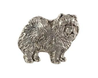 Chow chow body, dog pin, limited edition, ArtDog