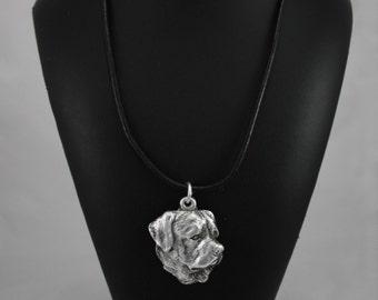 Rottweiler (head), dog necklace, limited edition, ArtDog