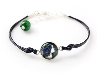 Cavalier king charles spaniel. Bracelet for people who love dogs. Photojewelry. Handmade.