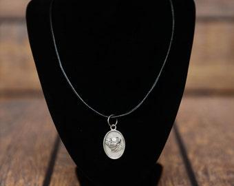 Staffordshire Bull Terrier, dog necklace, medallion, limited edition, extraordinary gift, ArtDog