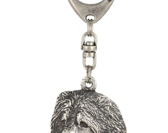 Caucasian Shepherd Dog, dog keyring, keychain, limited edition, ArtDog . Dog keyring for dog lovers