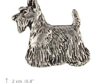 Scottish Terrier (body), dog pin, limited edition, ArtDog