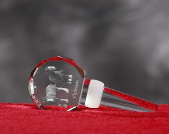 Clydesdale, Crystal Wine Stopper with Horse, Wine and Horse Lovers, High Quality, Exceptional Gift. New Collection