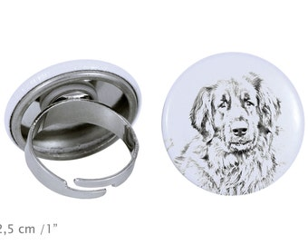Ring with a dog - Leoneberger