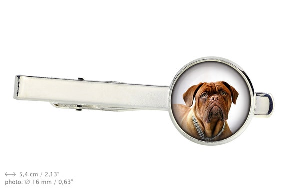 Earrings with box Photojewelry UK Handmade Dogue de Bordeaux.Pet in your ear