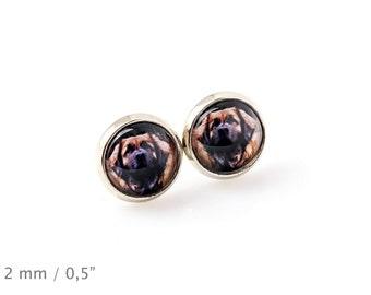 Leoneberger. Pet in your ear. Earrings. Photojewelry. Handmade.