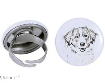 Ring with a dog- Kooikerhondje