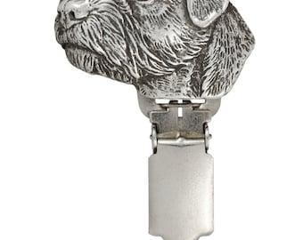 Border Terrier, dog clipring, dog show ring clip/number holder, limited edition, ArtDog