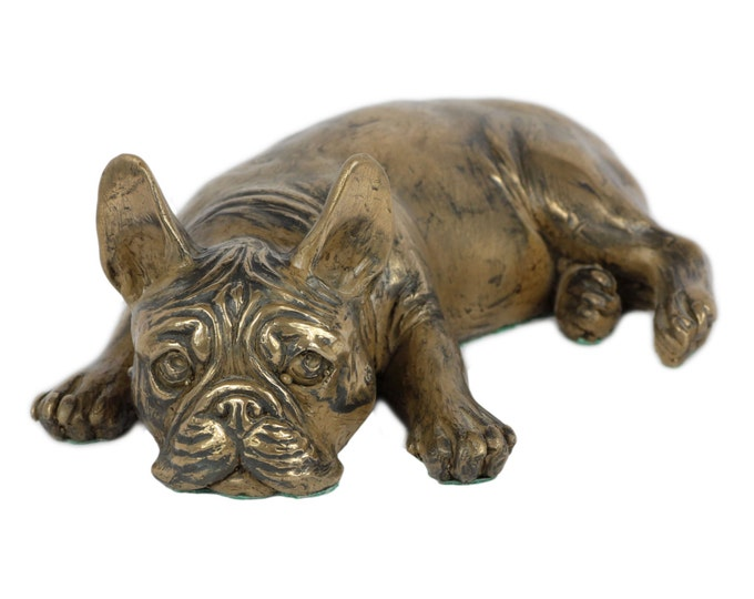Featured listing image: French bulldog, dog statue, limited edition, ArtDog