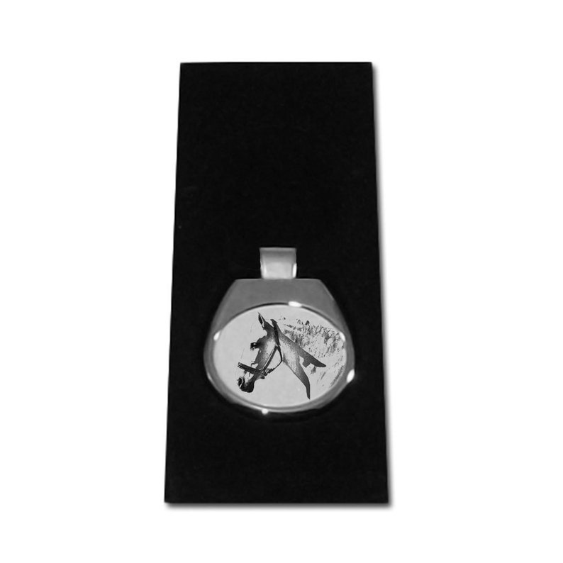 unique gift sublimation Spanish-Norman horse NEW collection of necklaces with images of horse