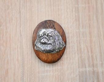 Pekingese, dog clipring, dog show ring clip/number holder, limited edition, ArtDog