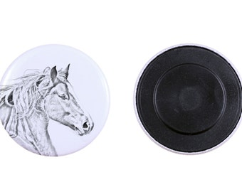 Magnet with a horse - Freiberger