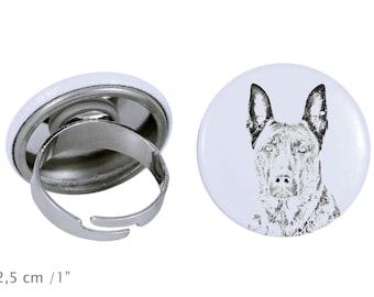 Ring with a dog- Dutch Shepherd Dog