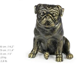 Pug, dog natural size statue, limited edition, ArtDog