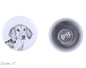 Earrings with a dog - Harrier