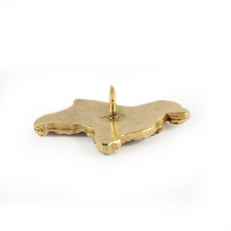 millesimal fineness 999 ArtDog English Cocker Spaniel limited edition dog pin