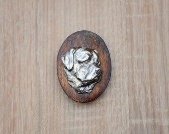 Rottweiler, dog clipring, dog show ring clip/number holder, limited edition, ArtDog