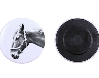 Magnet with a horse - Hanoverian