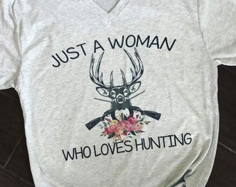 Just a woman who loves hunting