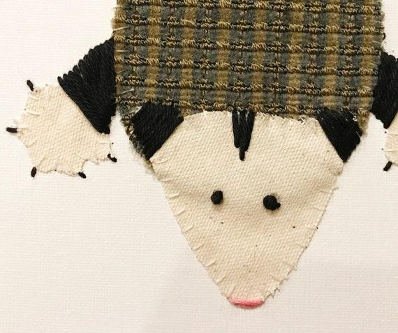Possie #2 Fabric Wall Art