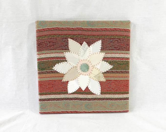Featured listing image: Boho Flower #3 Fabric Wall Art