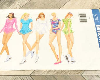 Vintage Sewing Pattern-Skating Dresses and Leotards-Circa 1990's-Never Used