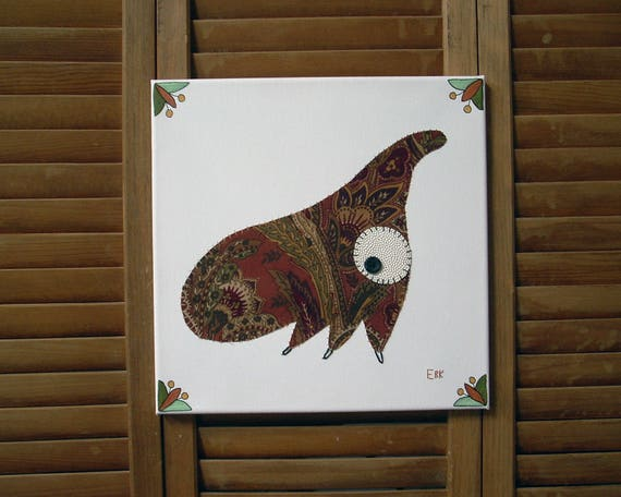 Treehopper #2 Fabric Wall Art