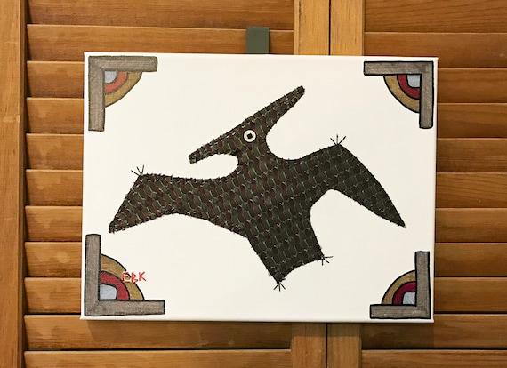 Pteranodon #5 Fabric Wall Art