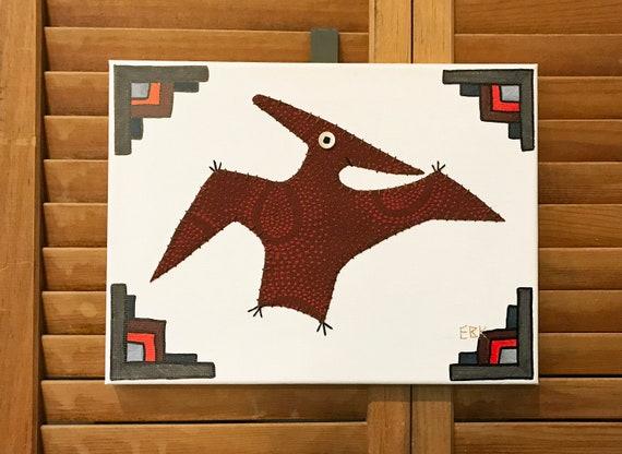 Pteranodon #4 Fabric Wall Art
