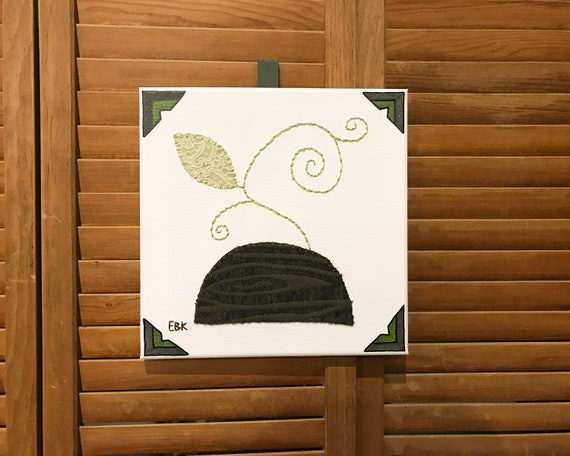 Tendril #1 Fabric Wall Art