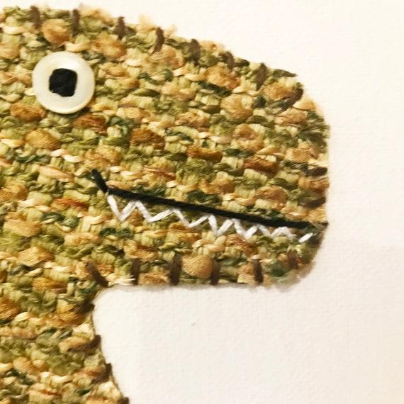 T-Rex #9 Fabric Wall Art