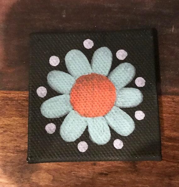 Dark Flower Magnet #3 Original Illustration