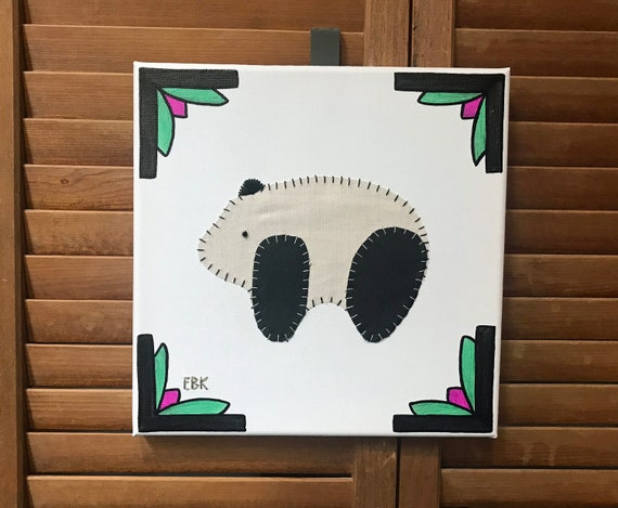 Baby Panda #2 Fabric Wall Art