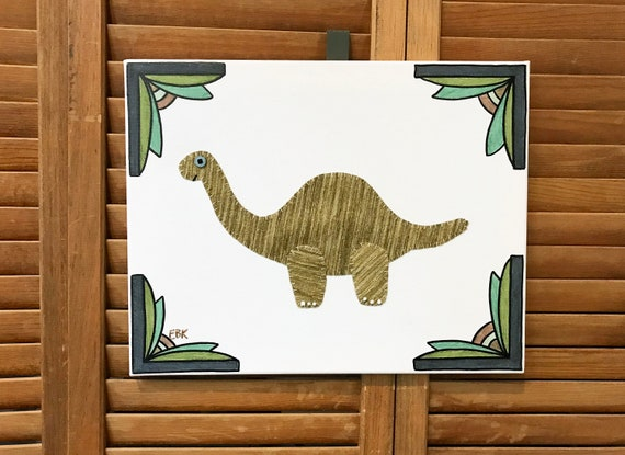 Brontosaurus #2 Fabric Wall Art