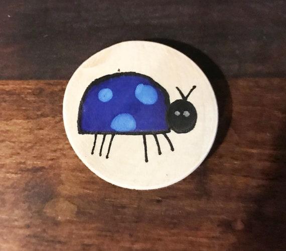 Ladybug Magnet #4 Original Illustration
