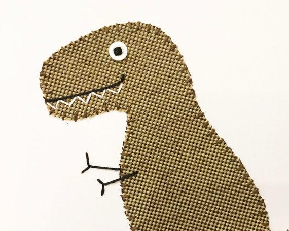 T-Rex #11 Fabric Wall Art