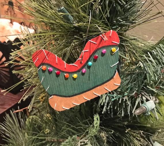Sleigh Ornament #1