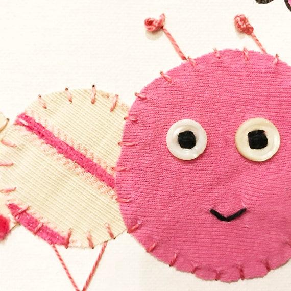 Baby Inchworm #26 Fabric Wall Art