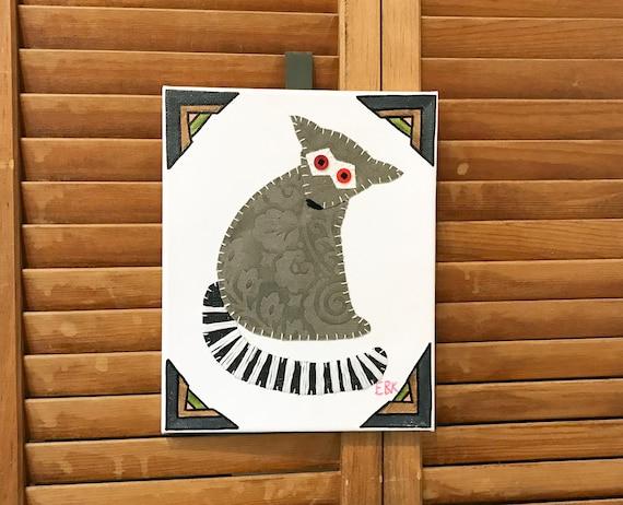Lemur #3 Fabric Wall Art